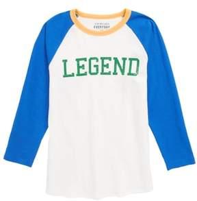 J.Crew crewcuts by Legend Baseball T-Shirt
