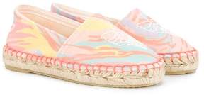 Stella McCartney ice cream print espadrilles