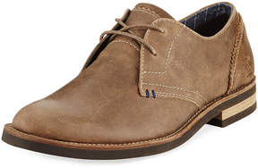 Original Penguin Wade Leather Lace-Up Oxford, Brown