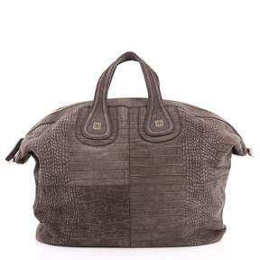 Givenchy Nightingale Grey Leather Handbag