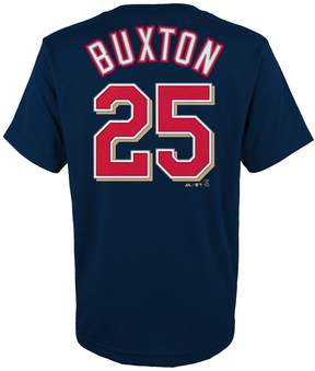 Majestic Boys 4-18 Minnesota Twins Byron Buxton Player Name and Number Tee