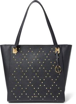 Ralph Lauren Perforated Elizabeth Tote