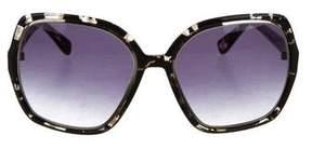 Derek Lam Tortoiseshell Broadway Sunglasses