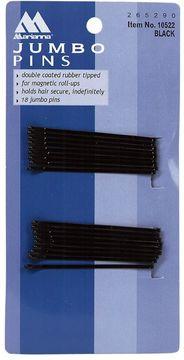 Marianna Black Jumbo Roller Pins