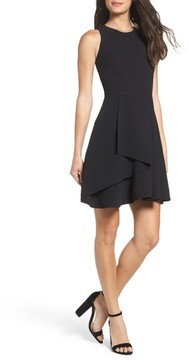 Adelyn Rae Women's Athena Fit & Flare Dress