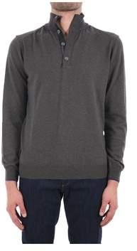 Trussardi Men's Grey Acrylic Sweater.