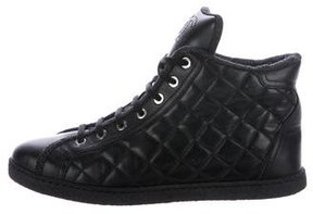 Chanel Quilted CC Sneakers