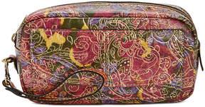 Patricia Nash Metallic Tooled Lace Remini Cosmetics Case