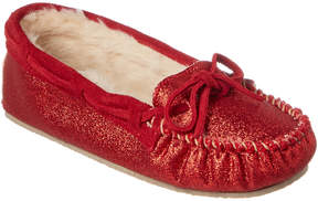 Minnetonka Women's Cally Glitter Slipper