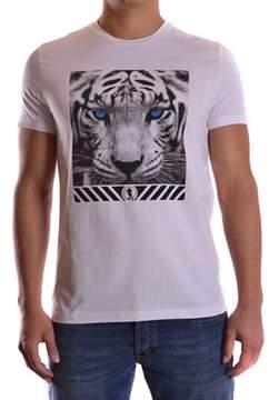 Dirk Bikkembergs Men's White Cotton T-shirt.