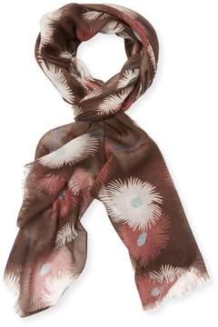 Valentino Women's Cashmere-Silk Floral Scarf