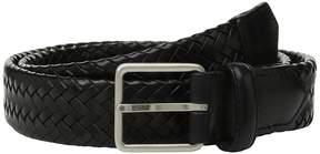 Cole Haan 32mm Woven Leather Strap Belt Men's Belts