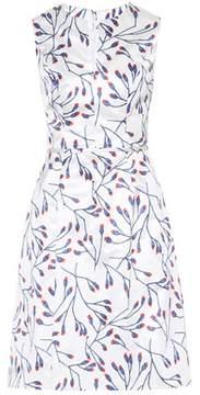 Carolina Herrera Sleeveless cotton and silk dress