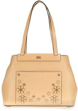 Michael Kors Meredith Medium Leather Tote- Butternut - ONE COLOR - STYLE