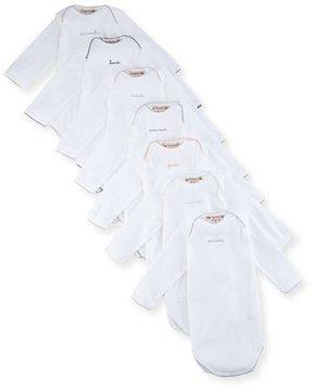 Bonpoint 7-Piece Days of the Week Bodysuit Set, Size 3-12 Months