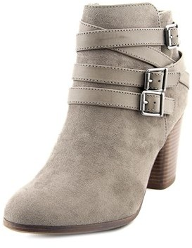 Material Girl Minah Round Toe Canvas Ankle Boot.