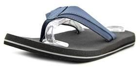 Sanuk Beer Cozy Men Open Toe Synthetic Blue Slides Sandal.