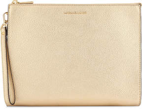 MICHAEL Michael Kors Mercer leather travel pouch - PALE GOLD - STYLE