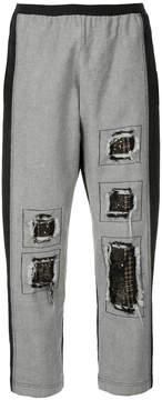 Antonio Marras contrast panel jeans