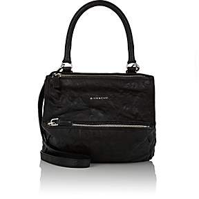 Givenchy Women's Pandora Pepe Small Leather Messenger Bag-Black