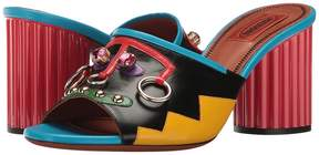 Missoni Ornament Heeled Slide Women's Shoes
