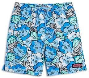 Vineyard Vines Boys' Pelican Magnolias Swim Trunks - Little Kid, Big Kid
