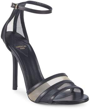 Aperlaï Women's Metallic Ankle-Strap Sandals