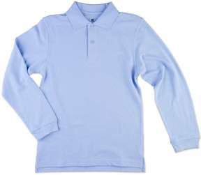 Chaps Boys 8-20 Solid Pique School Uniform Polo