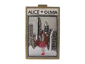 Alice + Olivia Sophia Vintage New York North South Clutch