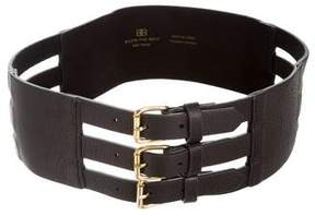 B-Low the Belt Leather Waist Belt w/ Tags