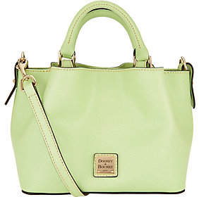 Dooney & Bourke As Is Saffiano Leather Mini Barlow Crossbdy