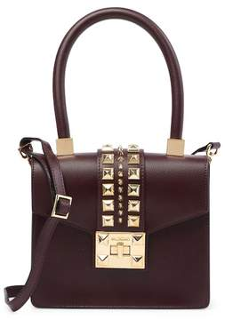 Mario Valentino Valentino By Arletty Studded Leather Handbag