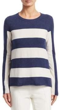 Akris Punto Stripe Crewneck Sweater
