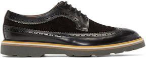 Paul Smith Black Leather Grand Brogue