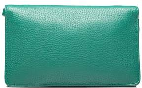 Marc Jacobs Women's Leather 'Gotham' Cross Body Clutch Green - GREEN - STYLE