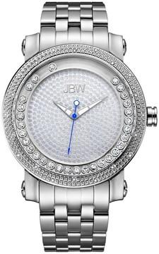 JBW Hendrix Silver Dial Diamond Men's Watch