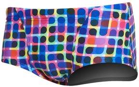 Funky Trunks Men's Inked Square Leg Brief Swimsuit 8162925