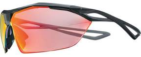 Nike Vaporwing R Sunglasses - EV0914 (Matte Black/Speed Tint Uml Red Flash Lens)