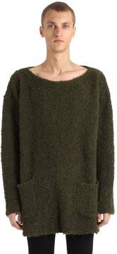 Faith Connexion Curly Boucle Mohair Blend Sweater