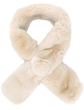 N.Peal fur neck-scarf
