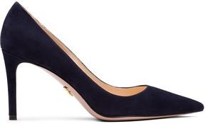Prada suede pointed toe pumps- Blue