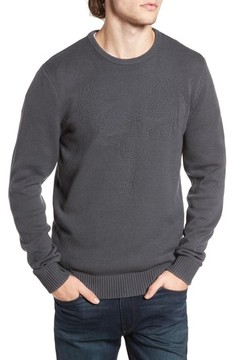 1901 Men's Tonal Motif Sweater