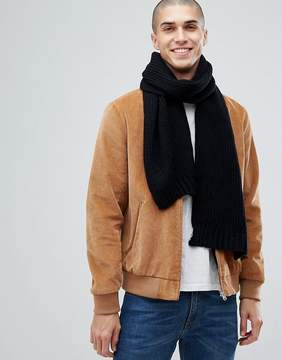 French Connection Ribbed Scarf