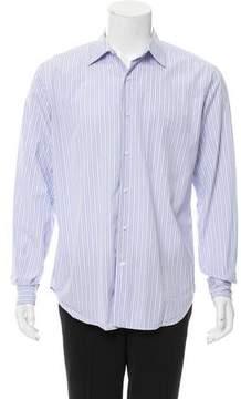 Loro Piana Striped Button-Up Shirt