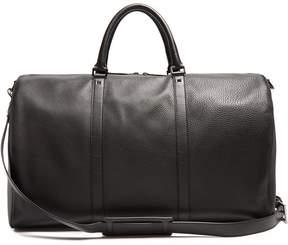 Valentino Rockstud grained-leather holdall