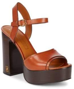 Marc Jacobs Lust Leather Platform Sandals