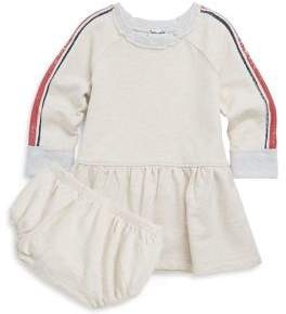 Splendid Baby Girl's Two-Piece Speckle Dress & Bloomers Set