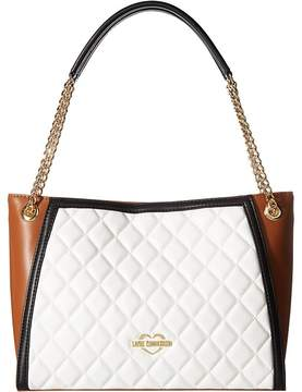 Love Moschino Quilted Tote Tote Handbags