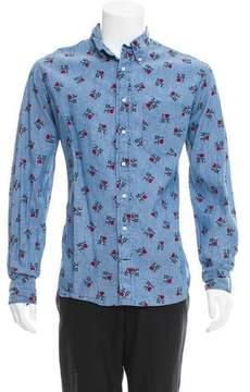 Gitman Brothers I Love New York Denim Shirt
