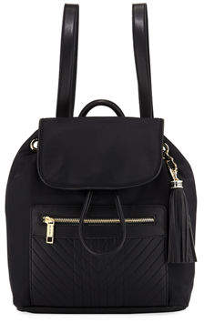 Karl Lagerfeld Paris Misto Nylon Backpack